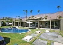 [Image: Stylish, Upscale Palm Springs Villa with Wifi and Pool - Canyon Green]