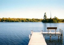 [Image: North Turtle Lake Home - 200 Feet of Lake Frontage]