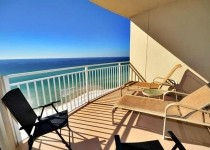 [Image: 1006 Aqua 1 Bedroom W/Bunks Gulf Front]