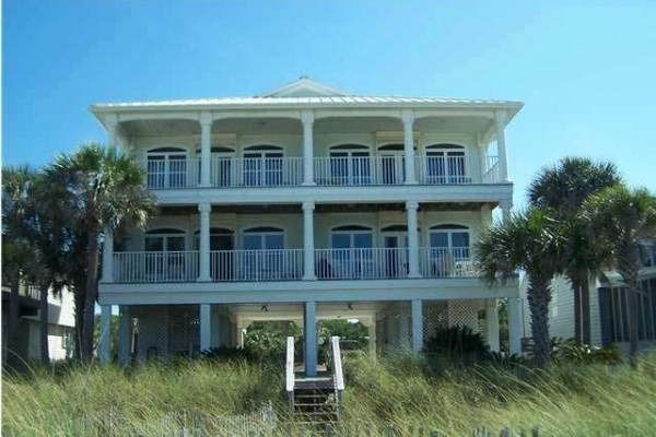 [Image: By the Sea - Gulf Front Duplex]