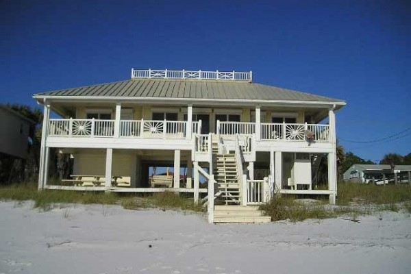 [Image: Gulf Front Vacation Home in Mexico Beach, Florida]
