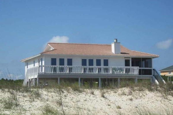 [Image: Sol Seaker: 3 BR / 2 BA Beach Front in Saint George Island, Sleeps 10]