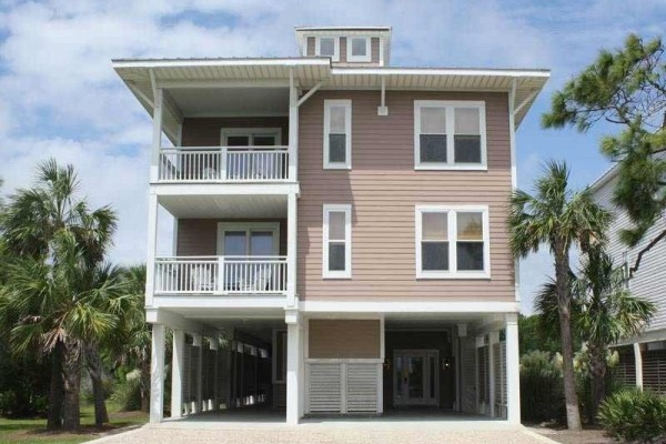 [Image: Relax-N-Style: 7 BR / 6.5 BA Beach View in Saint George Island, Sleeps 22]