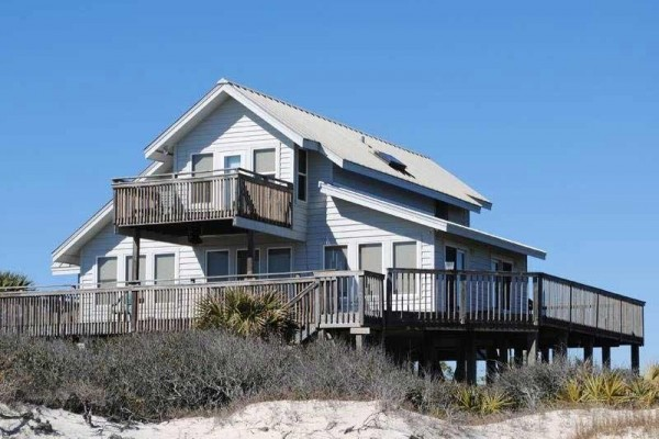 [Image: Sunbird: 3 BR / 3 BA Beach Front in Saint George Island, Sleeps 8]
