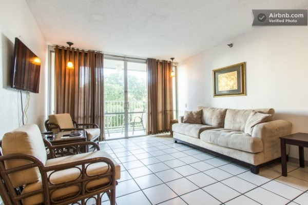 [Image: Amazing Beach Front 2 Bedroom Condo at Esj Towers. Huge Pool]