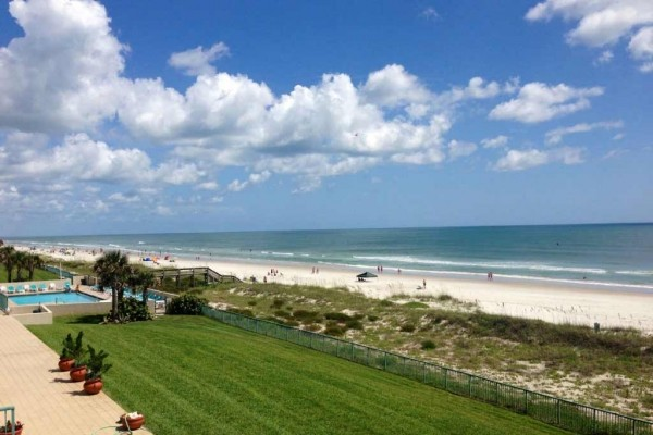 [Image: Oceanfront Paradise - Luxury 3/3 Condo in Ponce Inlet]