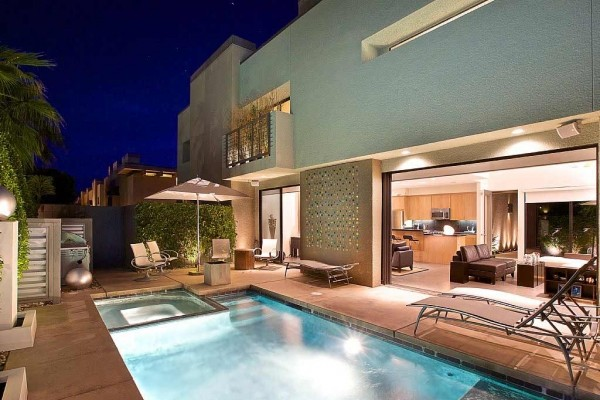 [Image: Contemporary Chic Condo Private Pool Separate Guesthouse]