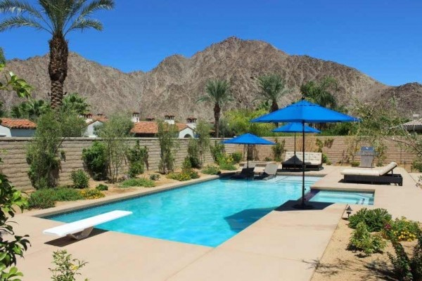 [Image: Next to La Quinta Resort and Spa - Saltwater Pool - Mtn Views]