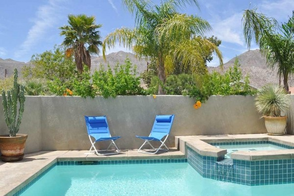[Image: Eco-Friendly Desert Oasis, Saltwater Pool, 3BR, View Home with Peace & Quiet!]