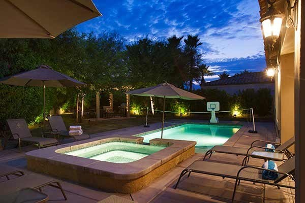 [Image: Pool & Spa, Firepit, Pool Table, Ping Pong - Walk to El Paseo!]