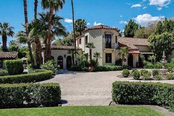 [Image: Sandacre - an Elegant, Secluded and Stately Spanish Estate with Pool and Spa]