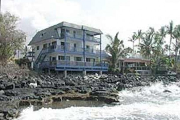 [Image: Prestigious Oceanfront Beach Home on the Water Condo Kona]
