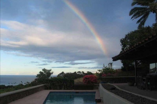 [Image: Private Home Behind the Mauna Kea Gates. Best Views, Pool]