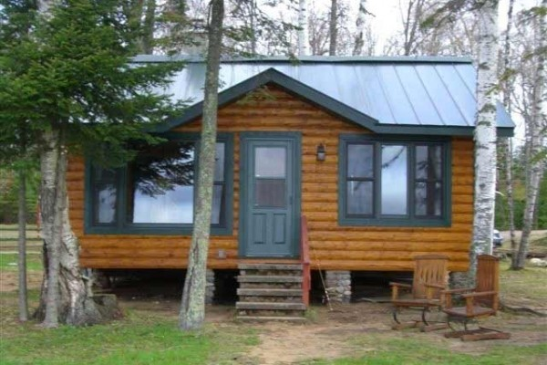 [Image: Jungs Condo Resort 2 BR 1 BA Northwoods Cabin on High Lake Boulder Junction Wi]