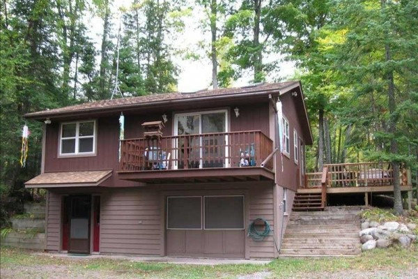 [Image: High Lake Cabin - Boulder Junction, WI - $135/nt/4 Guests]