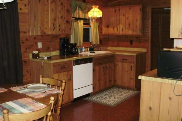 [Image: 3-Bed, 2-Bath Cabin Overlooking Lake Buckatabon, Sleeps 6]