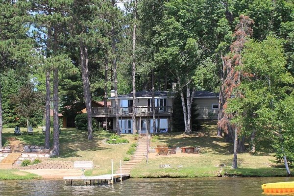 [Image: 'New for Rent' Two Lakefront Homes on the Eagle River Chain of Lakes]