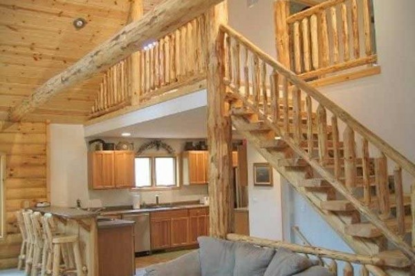 [Image: Spectacular Custom Log Home on Manitowish Chain of Lakes]