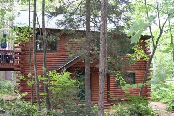 [Image: Beautiful Cabin at Aberdeen Lodge on Manitowish Chain]
