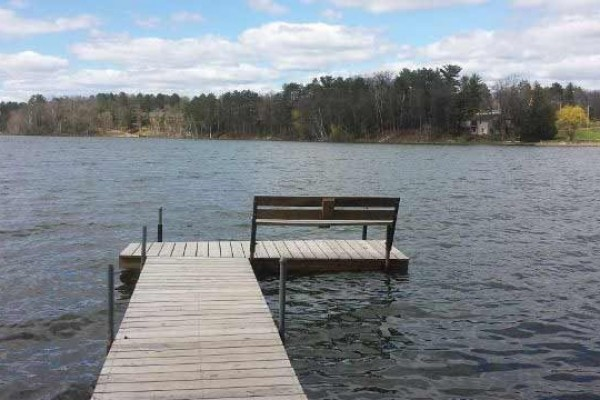 [Image: Minocqua Area Lake Front House - Little Muskie Lake]