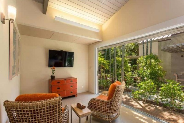 [Image: The Best of Indoor/Outdoor Living. a Mauna Kea Charmer!]