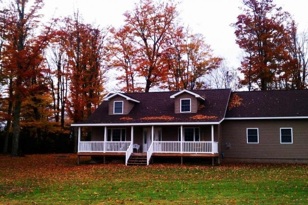 [Image: 'Brand New' Spacious Home- Secluded in the Heart of Canaan Valley! Sleeps 2- 14]