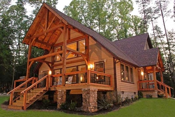 [Image: Luxury Mountain Cabin on Gauley Canyon - Near New River Gorge]
