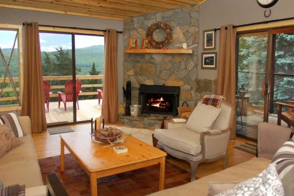 [Image: Lost River Cabin - Nestled on 5 Acres with Spectacular Mountain Views]