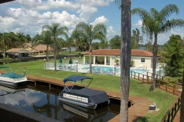 [Image: 'Paradise' Lake Tarpon Water Front Condo with 19' Boat]