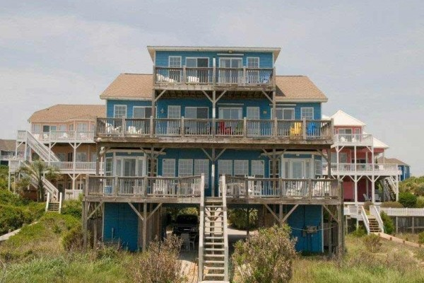 [Image: Beach Bingo West: 3 BR / 3 BA Duplex in Emerald Isle, Sleeps 6]