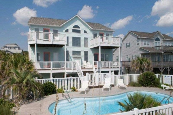 [Image: 1 a Serendipity: 6 BR / 6.5 BA Single Family in Emerald Isle, Sleeps 12]
