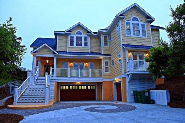 [Image: A-1derful Life: 5 BR / 5 BA Single Family in Pine Knoll Shores, Sleeps 10]