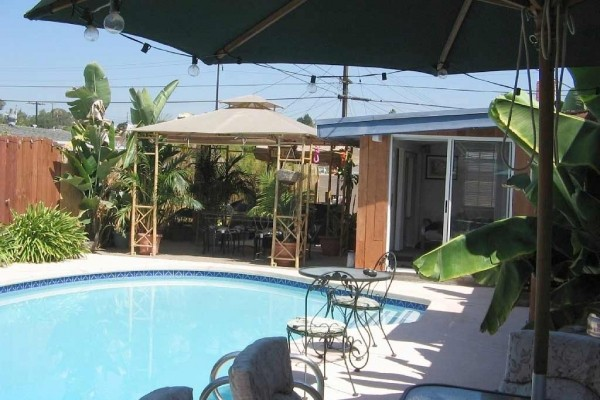 [Image: Disneyland Anaheim Area Tropical Paradise Home with Heated Pool and Hot Tub!!!]