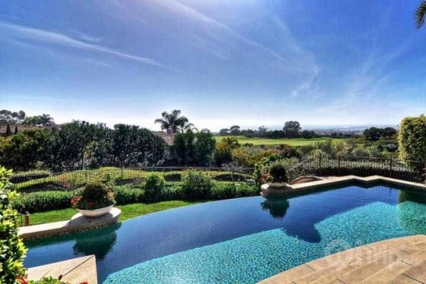 [Image: 5,0000 Sq. Ft. Pelican Hill Estate with Stunning Ocean and Golf Course]
